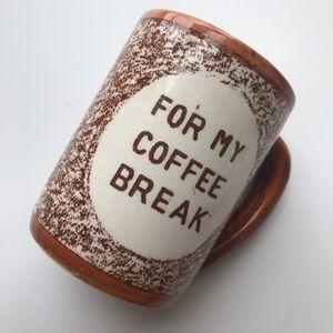 Vintage VTG pottery mug Coffee Mug